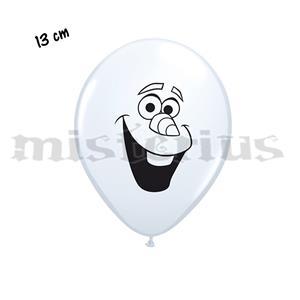 Balão Latex Olaf Face