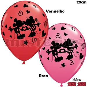 Balão Mickey e Minnie XOXO, Unid.
