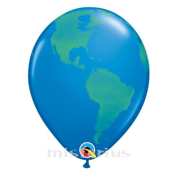 Balão Mundo em Látex, un