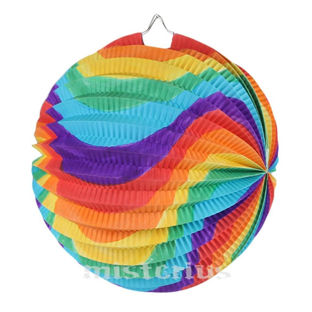 Balão Papel Multicor, 20 cm