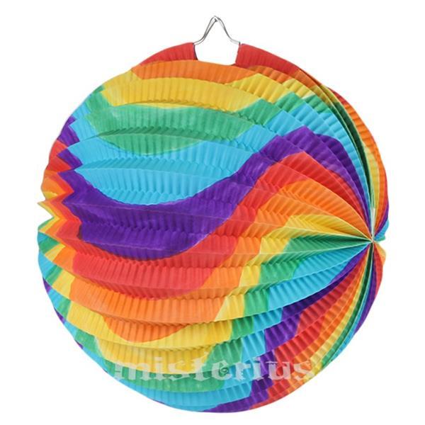 Balão Papel Multicor, 25 cm