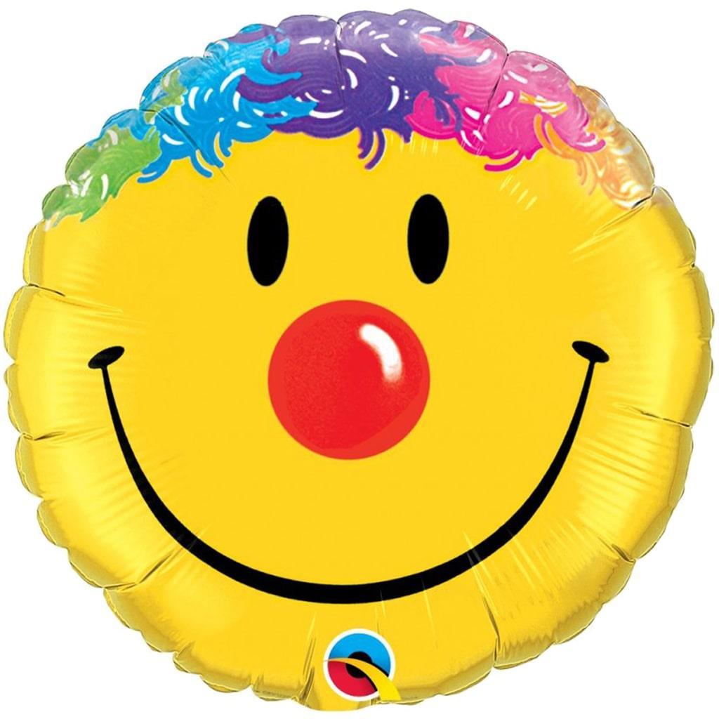 Balão Smile Palhaço 46cm