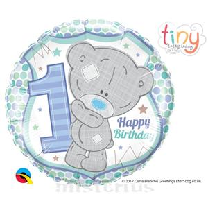 Balão Ursinho Menino 1 Aniversário