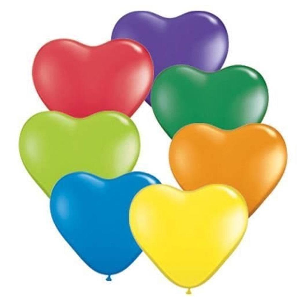 Balões Coração Latex