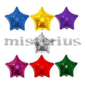 Balões Estrela Foil Metalizados 10 Cm