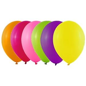 Balões Fluorescentes Multicolor 25 cm