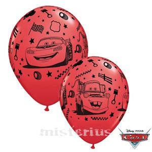 Balões Latex Cars,6unid