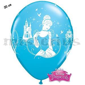 Balões Latex Cinderela, 6 Unid.