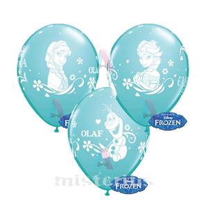 Balões Latex Frozen, 6 Unid.