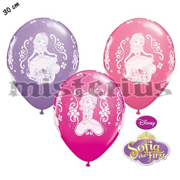 Balões Latex Princesa Sofia,6unid