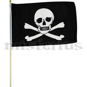 Bandeira Pirata, 46x30cm