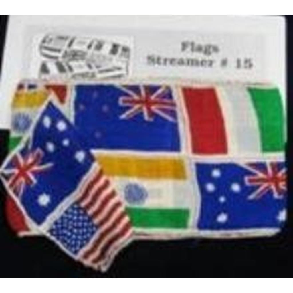 Bandeiras - Produção Serpentina 10X450 cm