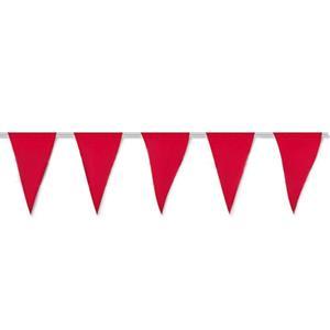 Bandeiras Triangulares Vermelhas, 5 mt