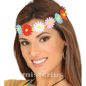 Bandolete Elástica Flores Multicor