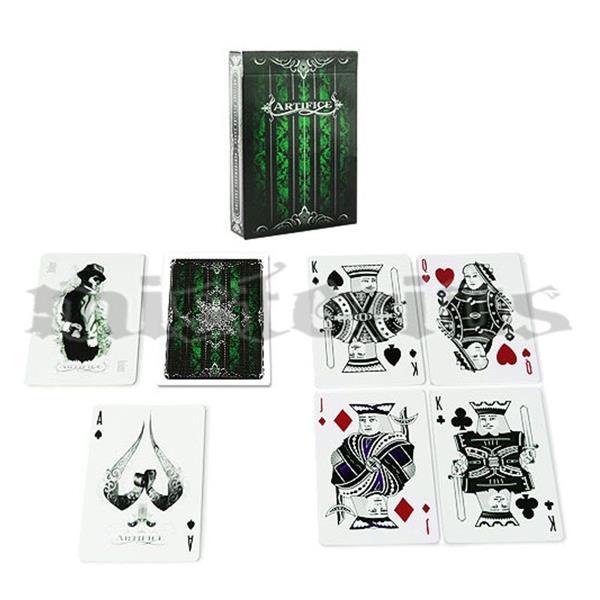 Baralho Artifice 2nd Edition Emerald