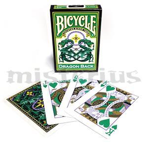 Baralho Bicycle Dragon - Green Back
