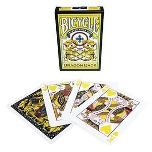 Baralho Bicycle Dragon - Yellow Back