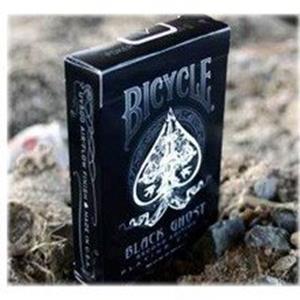 Baralho Bicycle Fantasma Preto Black Ghost