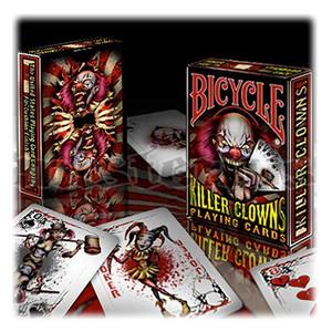 Baralho Bicycle Killer Clowns