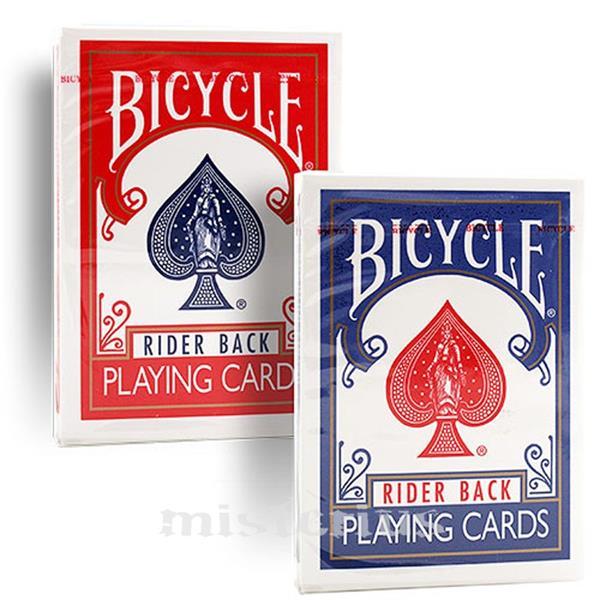 Baralho Bicycle Poker, 808 Rider Caixa antiga