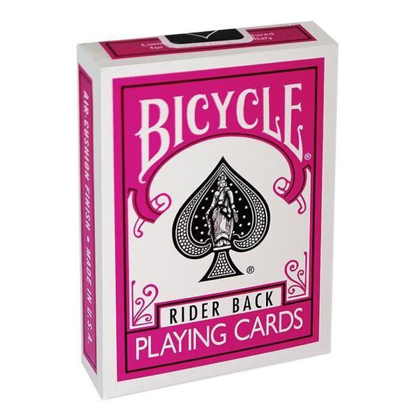 Baralho Bicycle Poker Rosa/Bicycle Poker Deck - Fuchsia Back