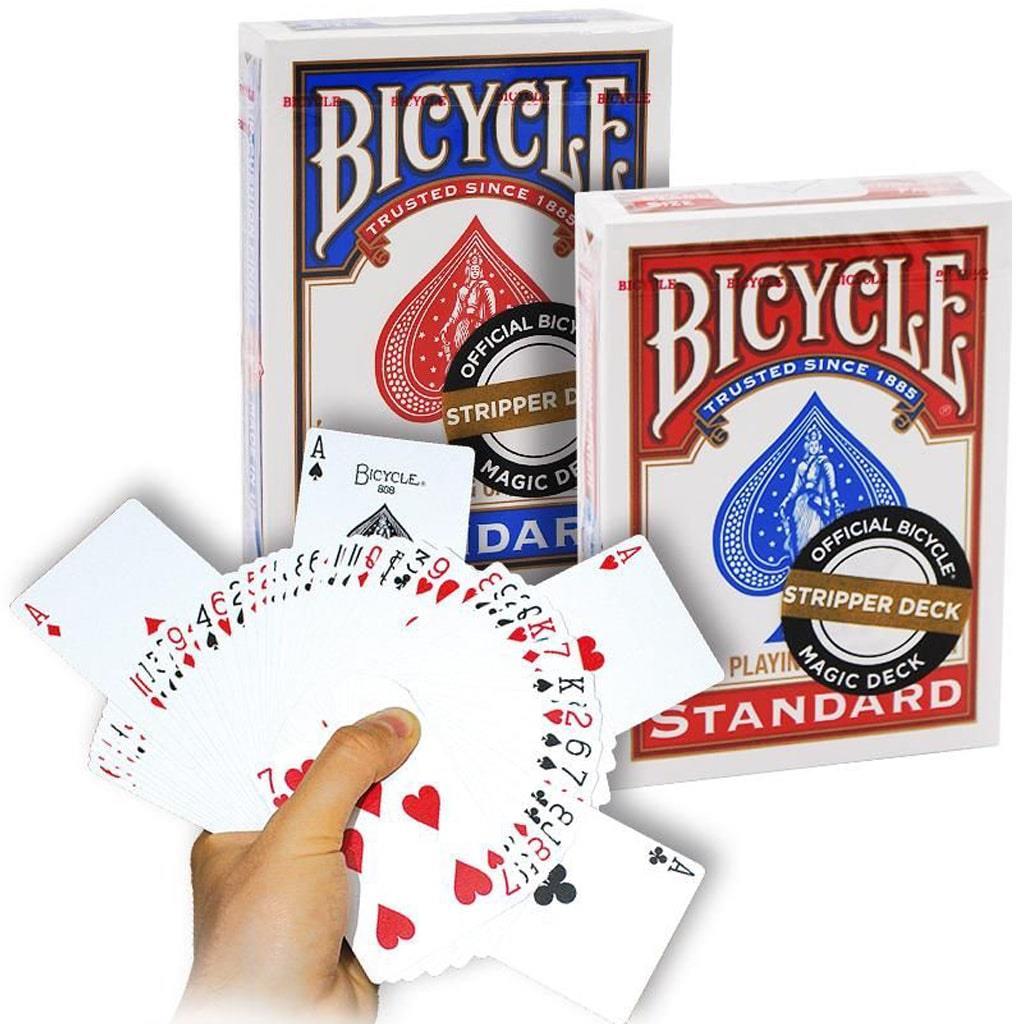 Baralho Biselado Stripper Poker Bicycle