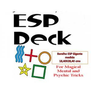 Baralho ESP Gigante - Giant ESP Deck