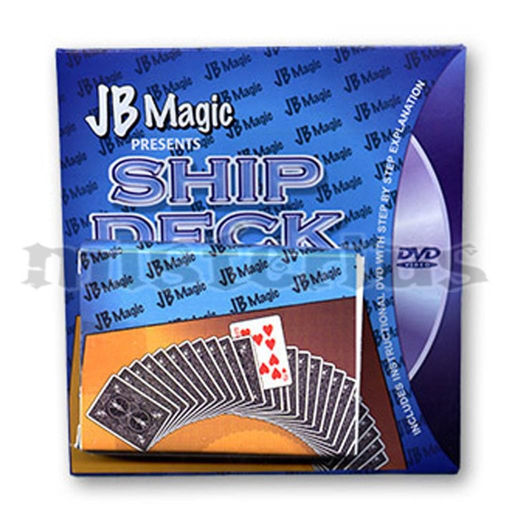 Baralho Navio (com dvd) - JB Magic