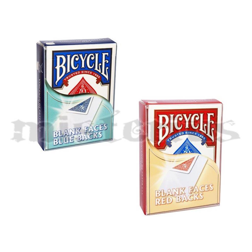 Baralhos Especiais bicycle - Face Branca/dorso cor