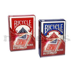 Baralhos Especiais - Duplo Dorso Azul/Vermelho Bicycle