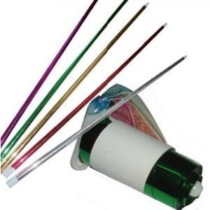 Bastão aparição plástico, appearing cane 110 cm com DVD