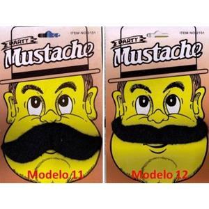 Bigodes Postiços Mod.11 e 12 Party-Mustahes False Party ;