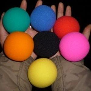 Bolas de esponja 6 cm - Sponge balls
