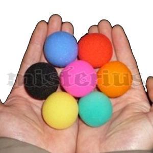 Bolas de Esponja Super Soft 2.50 cm