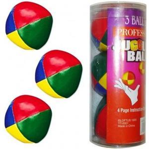 3 Bolas de malabarismo, 100Grx3=300 gramas