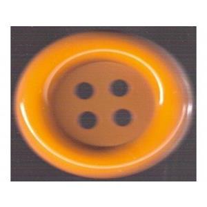 Botões Palhaços Amarelo Torrado