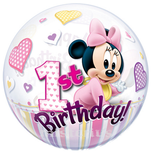 Bubble 1º Ano Minnie Mouse