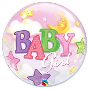 Bubble Baby Girl Lua e Estrela