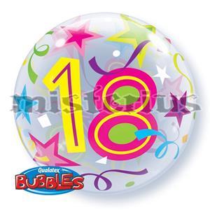 Bubble Estrelas 18 Anos