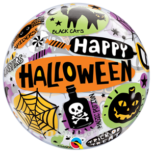 Bubble Happy Halloween 56 cm