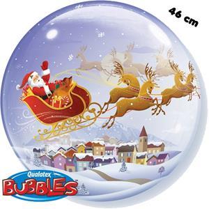 Bubble Trenó Pai Natal