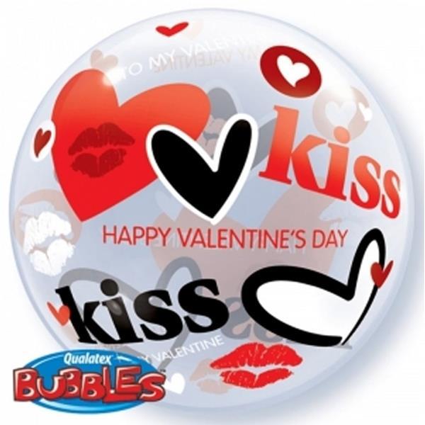Bubble Valentine´s Kisses