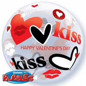 Bubble Valentine´s Kisses