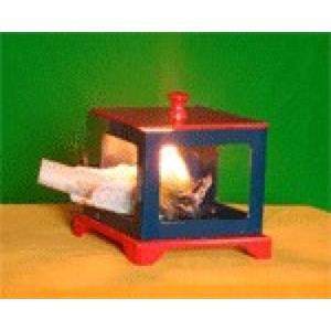 Caixa fogo Lenço - Flaming Ball / Silk Casket large ;