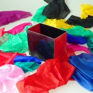 Caixa Produção lenços - Silk Fountain Box 2