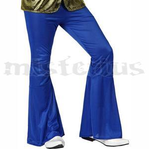 Calças Disco Azuis