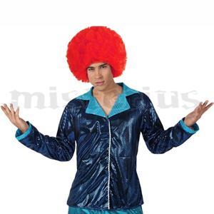 Camisa Disco Azul