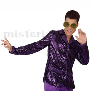 Camisa Disco Roxa