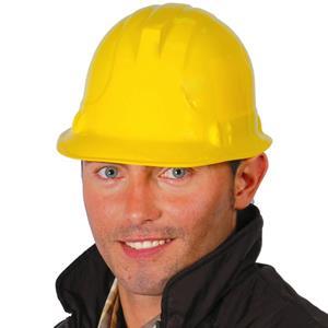 Capacete Bob Construtor Amarelo