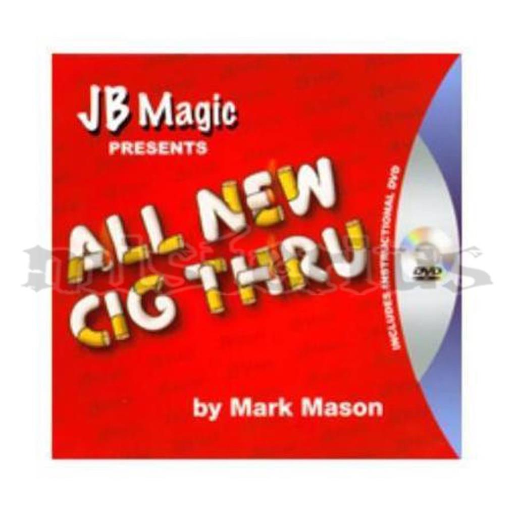 Carta perfurada pelo Cigarro com DVD - Mark Mason